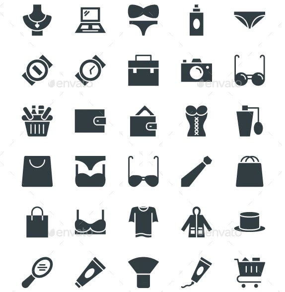 fashion and clothes vector icon