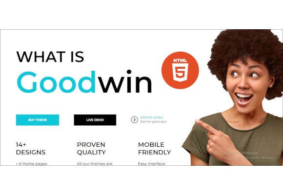 goodwin ecommerce html template
