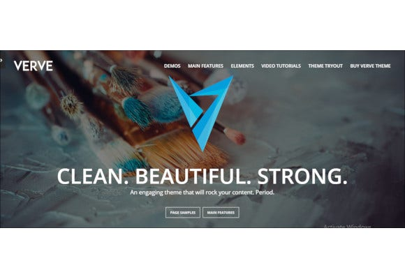 grafik high style wordpress theme