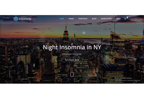 insomnia beautiful and modern html 5 css 3 corporate template