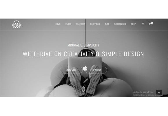 metrolife responsive multipurpose html5 template