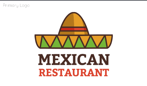 mexican food business logo