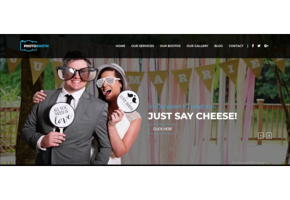 photo booth template