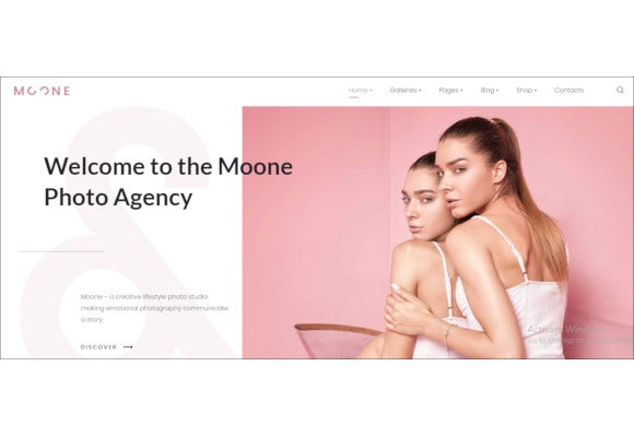 photography portfolio elementor wordpress theme