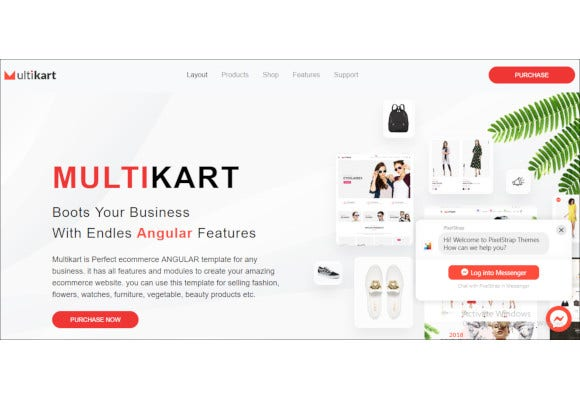 responsive angular ecommerce template