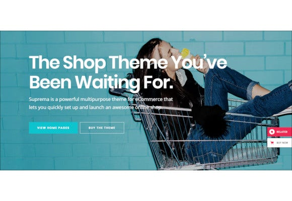 suprema multipurpose ecommerce theme