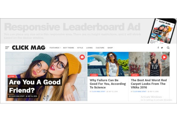 viral wordpress news magazine blog theme