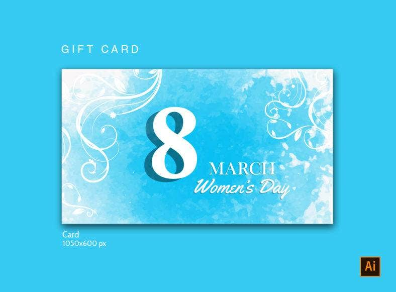 Women's Day Gift Card