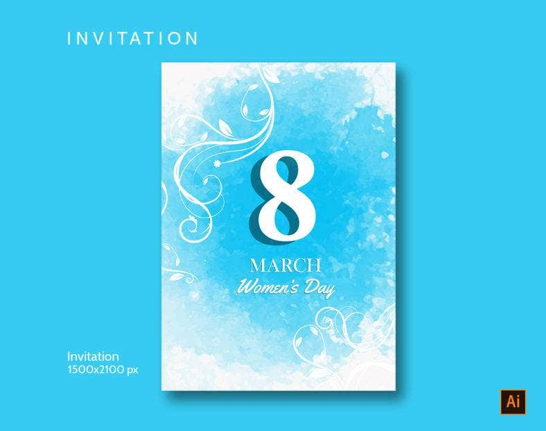 Women's Day Invitation