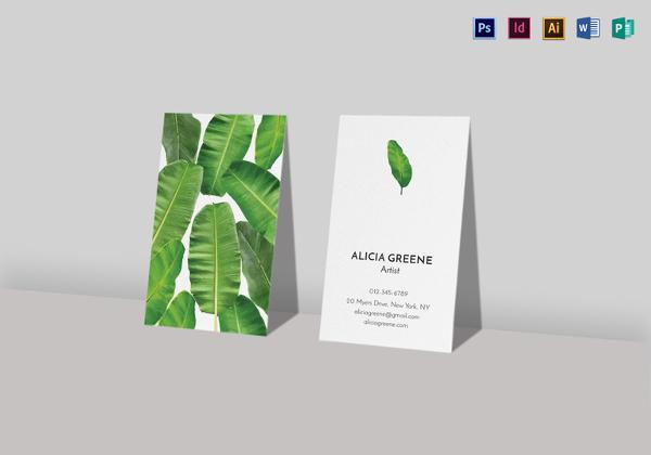 banana-leaf-business-card