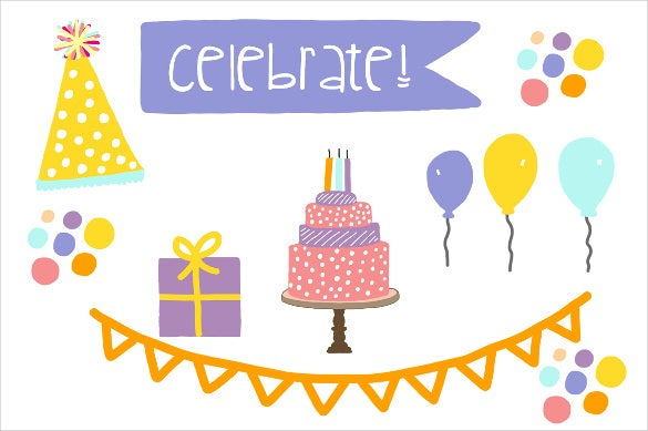 birthday party sample banner template