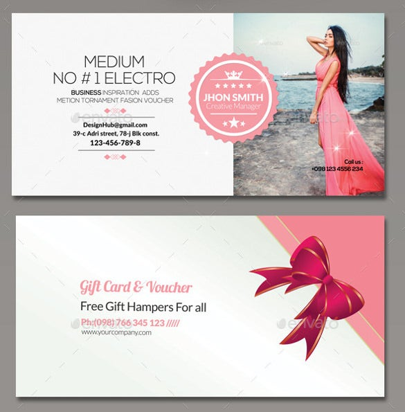25 Business Voucher Templates Free Sample Example Format – Gift Voucher Format