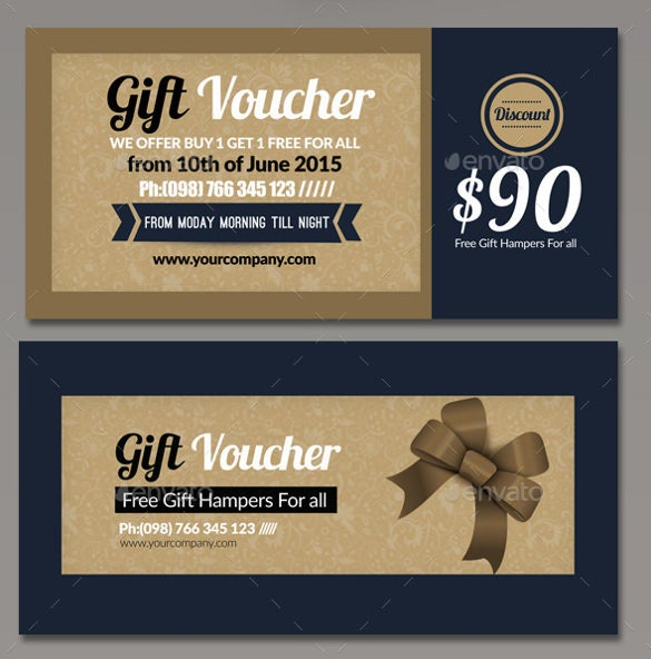format multi use business gift voucher example download