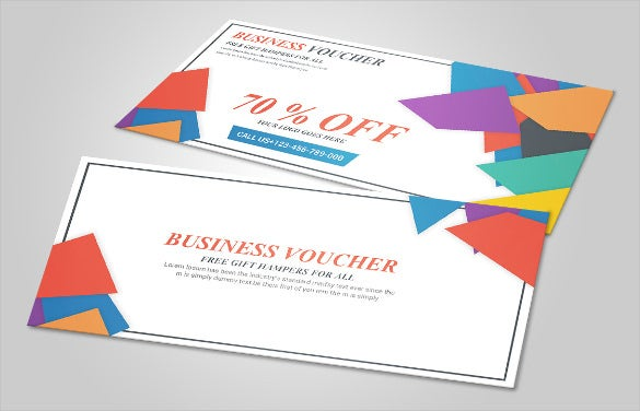 multi use business voucher format download