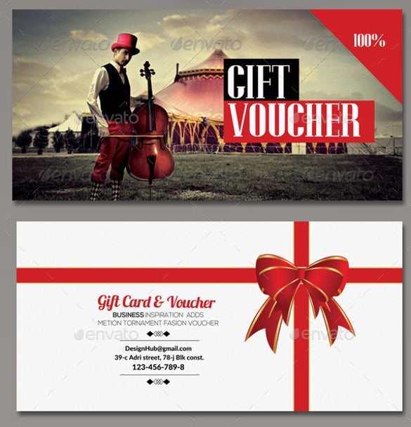 multi use business sample voucher download