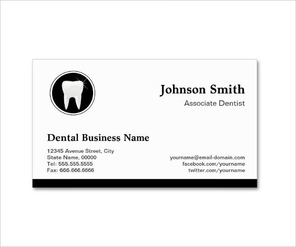 Dentist dental clinic business card template 40 free psd format professional dentist appointment business card wajeb Image collections