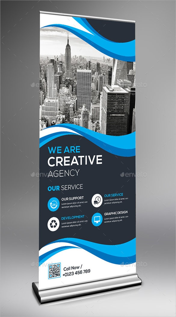 modern rollup sample banner template