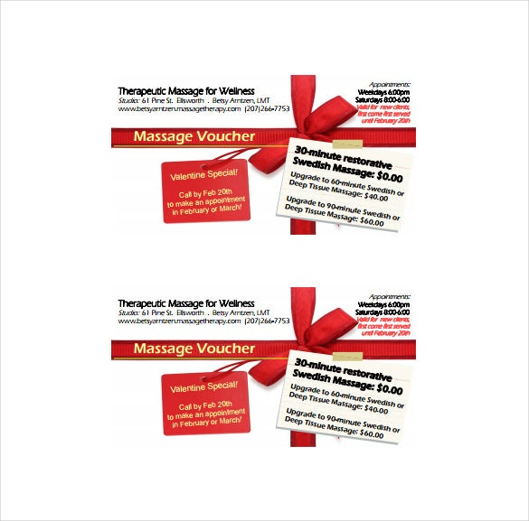 seasonal massage voucher format download