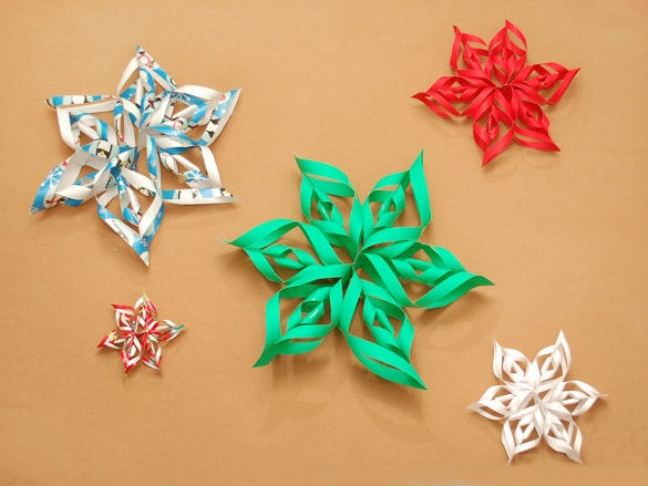 paper snow flake Just print the snowflake templates and you'll have some fancy snowflakes of your follow their instructions on how to fold your paper then cut using this guide.