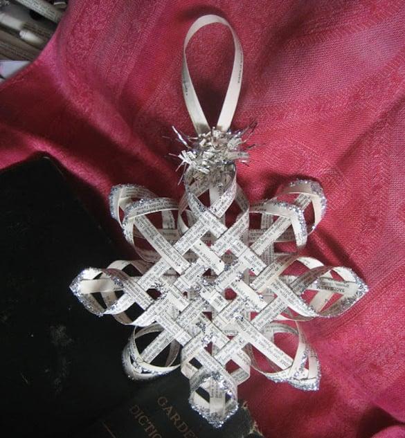 download 3d paper snowflake pattern