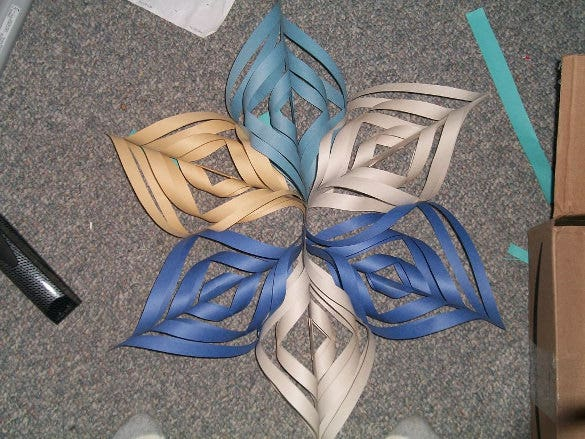 3d snowflake of awesomeness idea