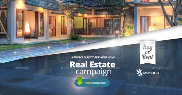 real estate sample facebook banner