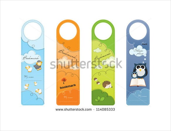 bookmark designs for children