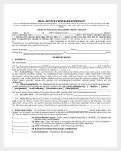 purchase agreement template real estate