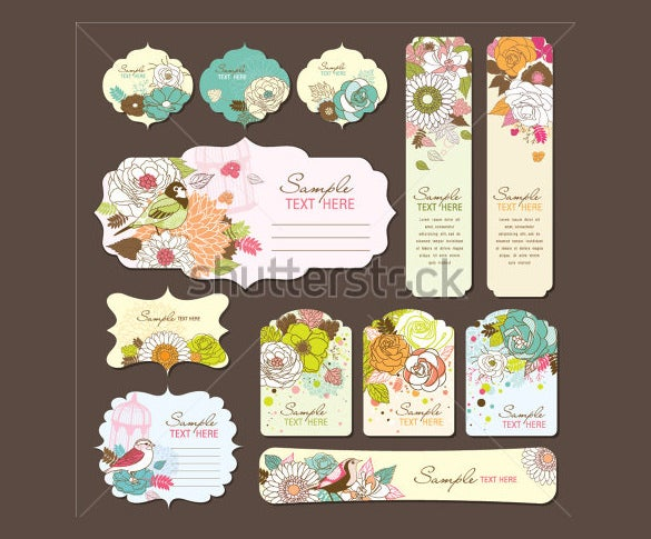 coolection wedding bookmark templates download