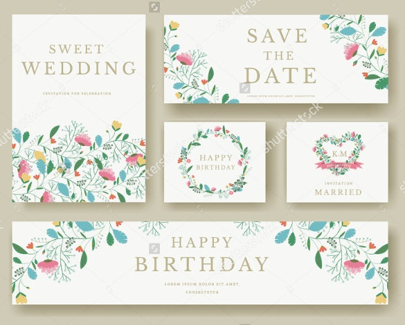 multipurpose wedding bookmark designs download