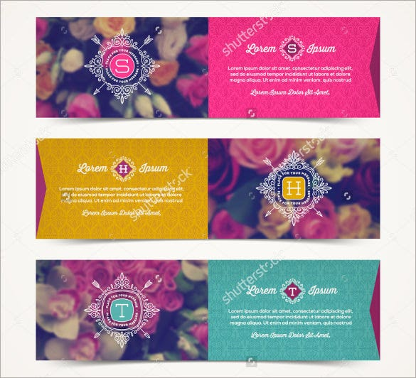 attractive wedding bookmark design template download