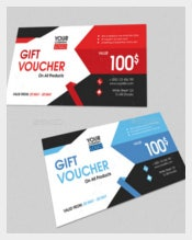 Gift Voucher Example Template Download