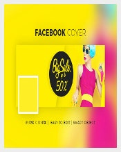 Clean Facebook Sample Banner Download