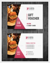 Gift Voucher Format Template Download
