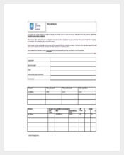 Example Petty Cash Voucher Free Template