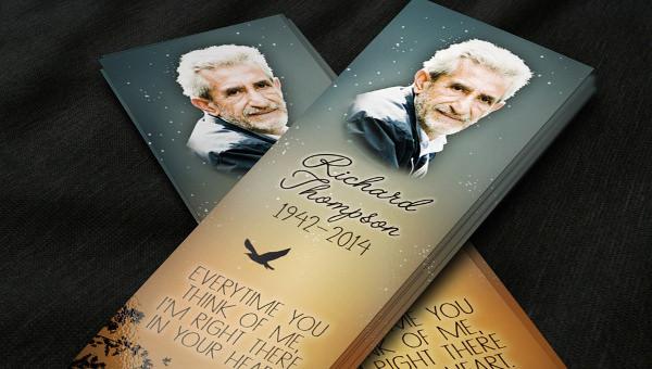 funeralbookmarktemplate