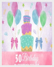 Giftbox Sample Birthday Banner Template Download