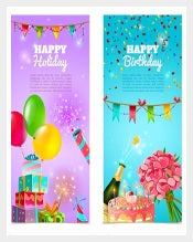 Guest Sample Birthday Banner Template Download