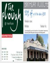 PloughTrent Birthday Voucher Format Template