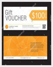 Blank Gift Voucher Sample Template Download