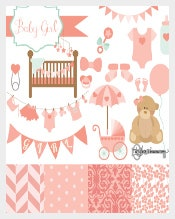 Teddy Bear Baby Shower Banner Sample Template Download