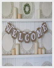 Handmade Welcome Sample Banner Template Download