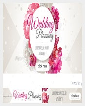 Bride Wedding Sample Banner Template Download