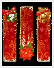 Christmas Sample Vertical Banner Template Download