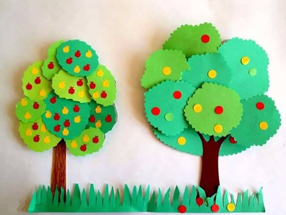 Дерево из бумаги своими руками с