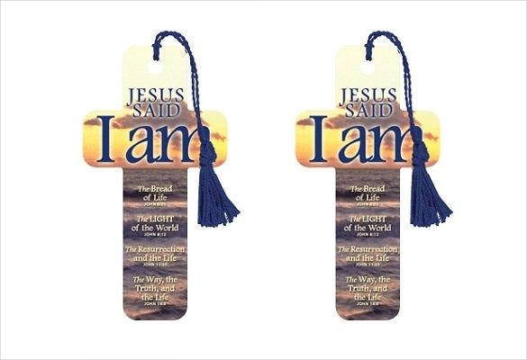 print ready jesus bookmark template download