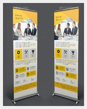 Insurance Rollup Sample Banner Template Download