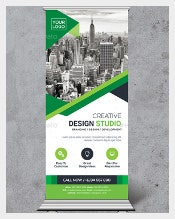 Official Rollup Sample Banner Template Download