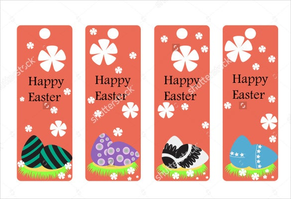 christian bookmark template for easter
