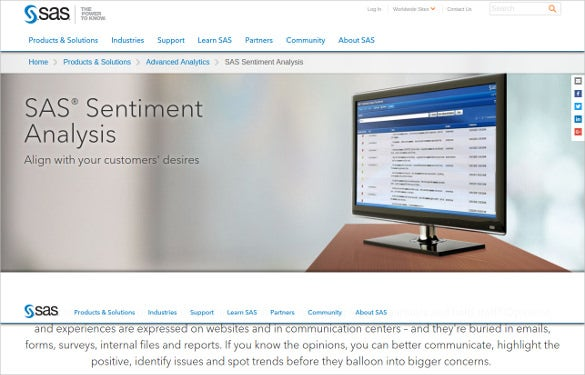 sas sentiment analysis tool download